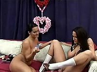 Sandra Romain and Carmella Fea